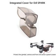 Digital camera Gimbal Lens Cap Guard Entrance 3D Sensor System Display screen Cowl Built-in Protecting Cowl for DJI SPARK