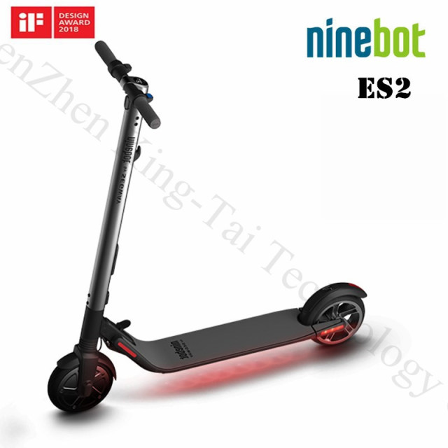Ninebot ES2/ES4 Version 1.3 Smart Electric Scooter foldable lightweight long board hoverboard Electric skateboard 25km with APP