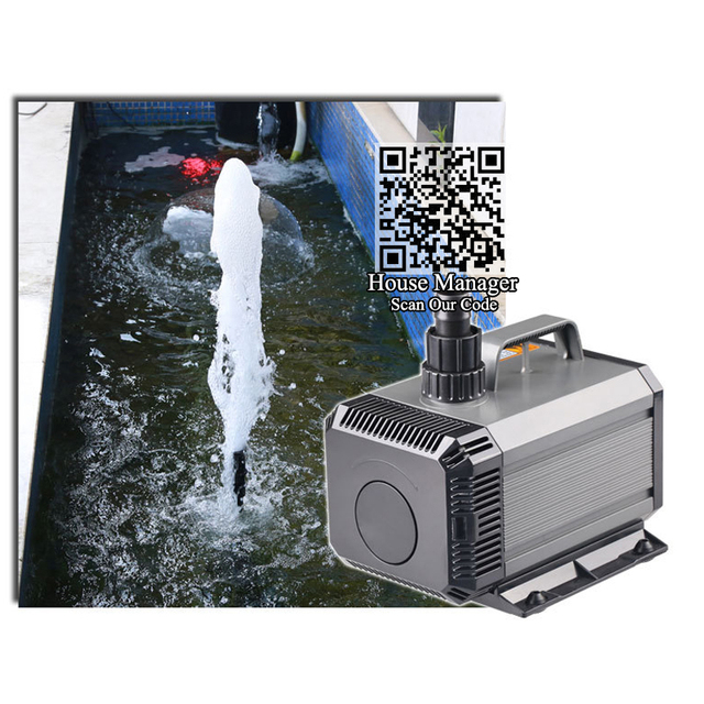 Amphibious Pond Pump - Water Fountain Circulation System  5