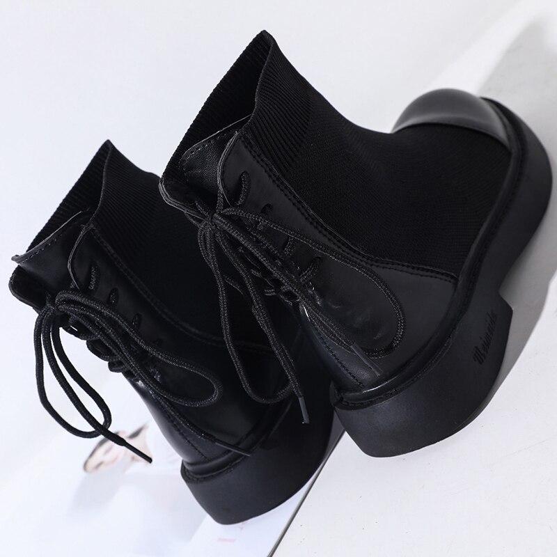Hebilla Tobillo Con Zapatos Mujeres Clásico Remache Tacón Lluvia Bota Botas Las De Otoño 2018 Mujer Metal Madura Nuevo Damas Elegante Negro Alto R57SxqwnU
