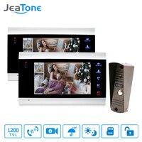 7 Video Doorphone Intercom System On Door Speakerphone Camera Home Security Video Door Phone Waterproof Doorbell