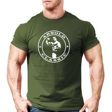 2019 New Arrive O-Neck T Shirt Men Arnold Classic Body Building T-Shirt | Workout Trainer Motivation Online Tshirt Design