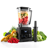 Alfawise Fress Smoothie Blender Mixer Food Professor 3 Gear 2L High Speed Fruit Vegetable Juice Mixer Heavy Duty Ice Crusher Z20