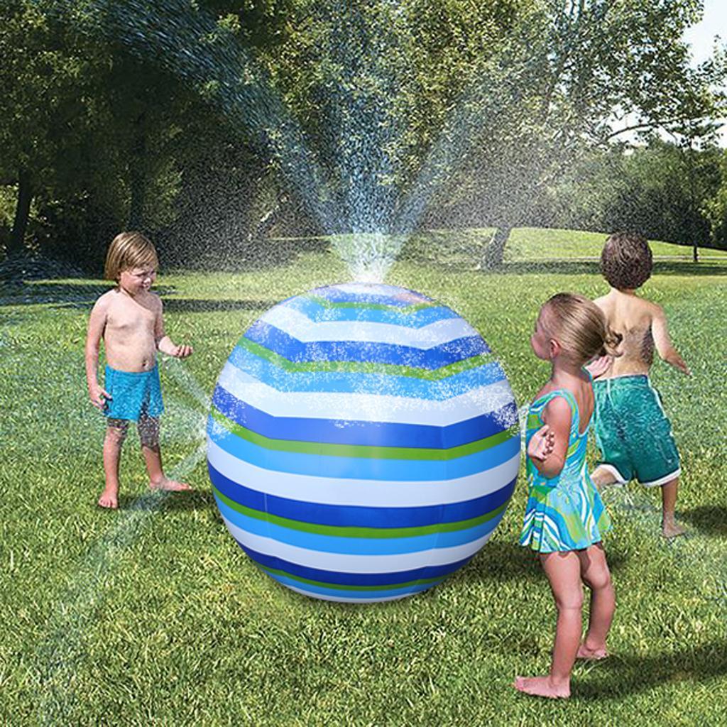 Garden Pool Beach Inflatable Sprinkle Splash Play Mat Ball