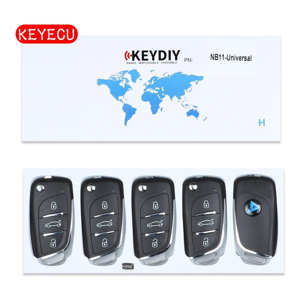 Keyecu 5pcs lot Universal Remote NB Series for KD900 KD900 URG200 KEYDIY Remote for NB11 7961XTT