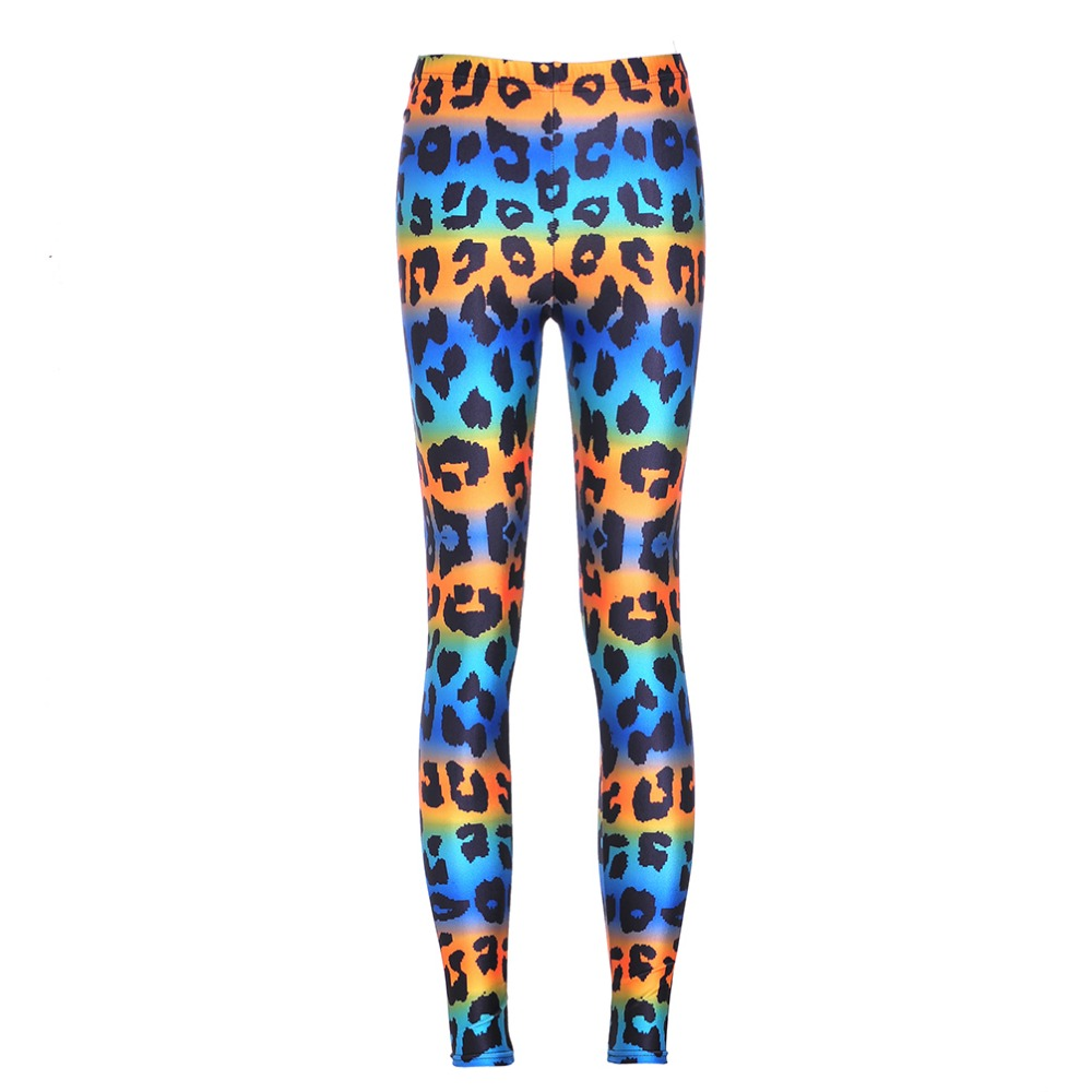 New Sale Sexy Lady woman stretch Fashion leggings Jeggings Colorful Leopard  Digital Print Slim Pants Fitness - Compare Prices On Colored Jeggings- Online Shopping/Buy Low Price