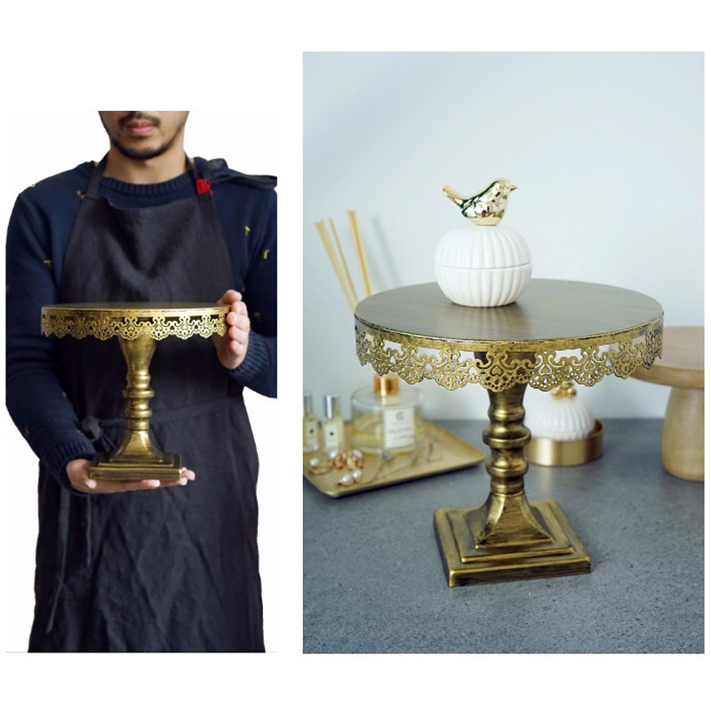Sweetgo Vintage Cake Stand Cupcake Stand Wedding Cake Tools Decoration Bakeware Kitchen,Dining & Bar Perfum Holder