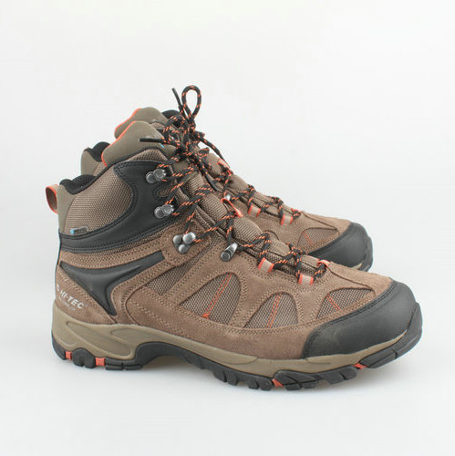 Men's Outdoor Breathable Nubuck Leather Hiking Shoes