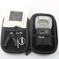 Vape DIY Tools Kit with Atomizer Resistance Ohm Tester/Fire Digital multi function Test Tools for Electronic Cigarette