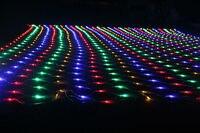 2*3 M 210 LEDS led mesh lichtslingers meshwork lamp kerst decoratie outdoor ornament bruiloft vakantie led string netto-verlichting