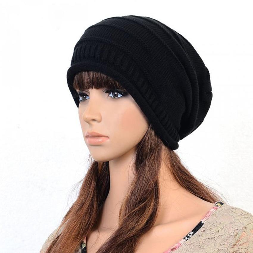 Aliexpress.com Comprar 2016 marca moda beanie sombreros otoño invierno para mujer punto touca capó toca cap Gorro gorros para hombre skullies cap S09 de