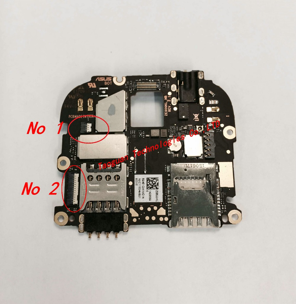 XGE New LCD Display/Touch FPC Connector Port Plug On Mainboard For ASUS Zenfone2 ZF2 ZE500KL Z00ED Zenfone 2 Top Quality