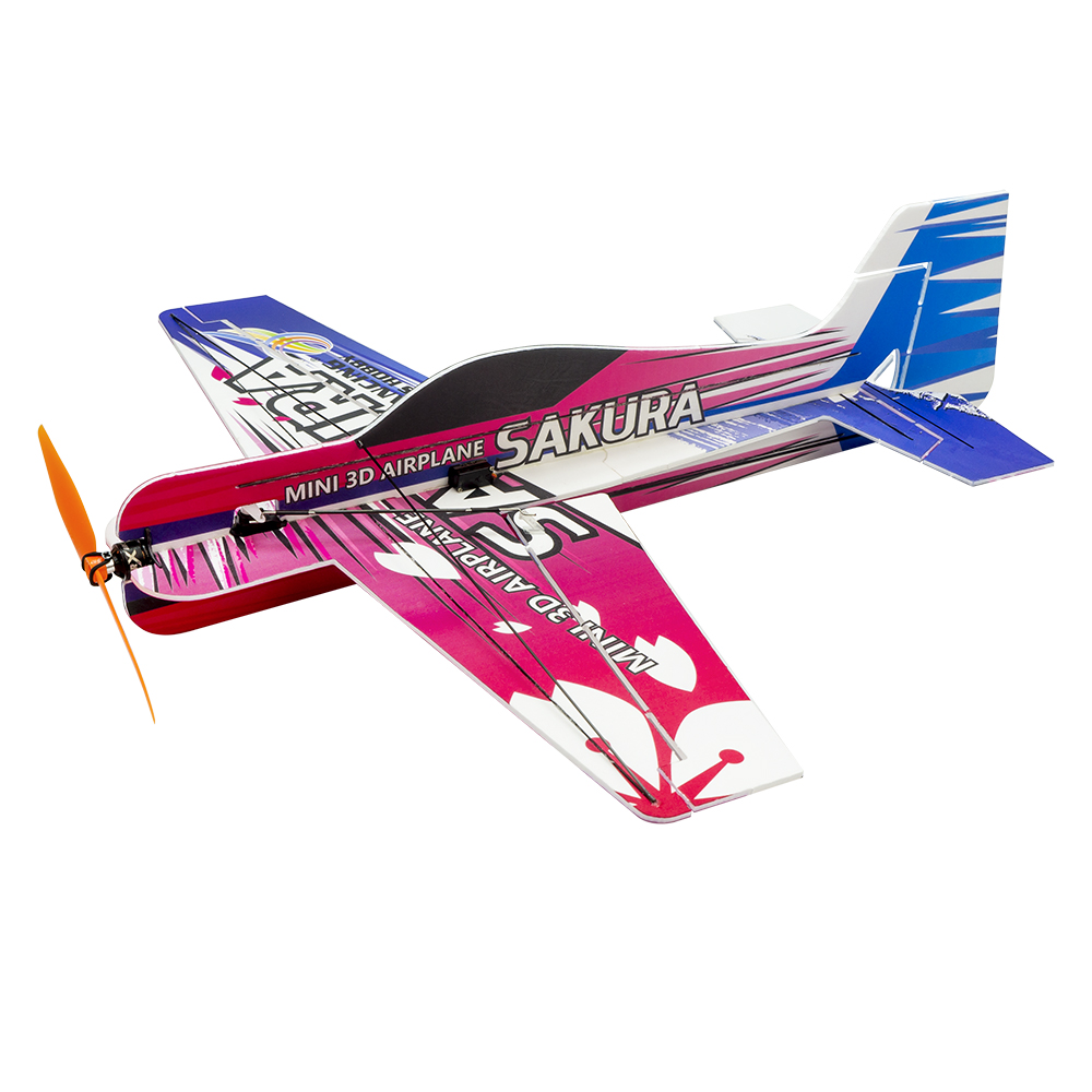 Image 4 - RC Air plane 3D Airplane Micro Mini Foam EPP PP F3P Lightset KIT Model Hobby Toys Sakura Remote Control Toys-in RC Airplanes from Toys & Hobbies