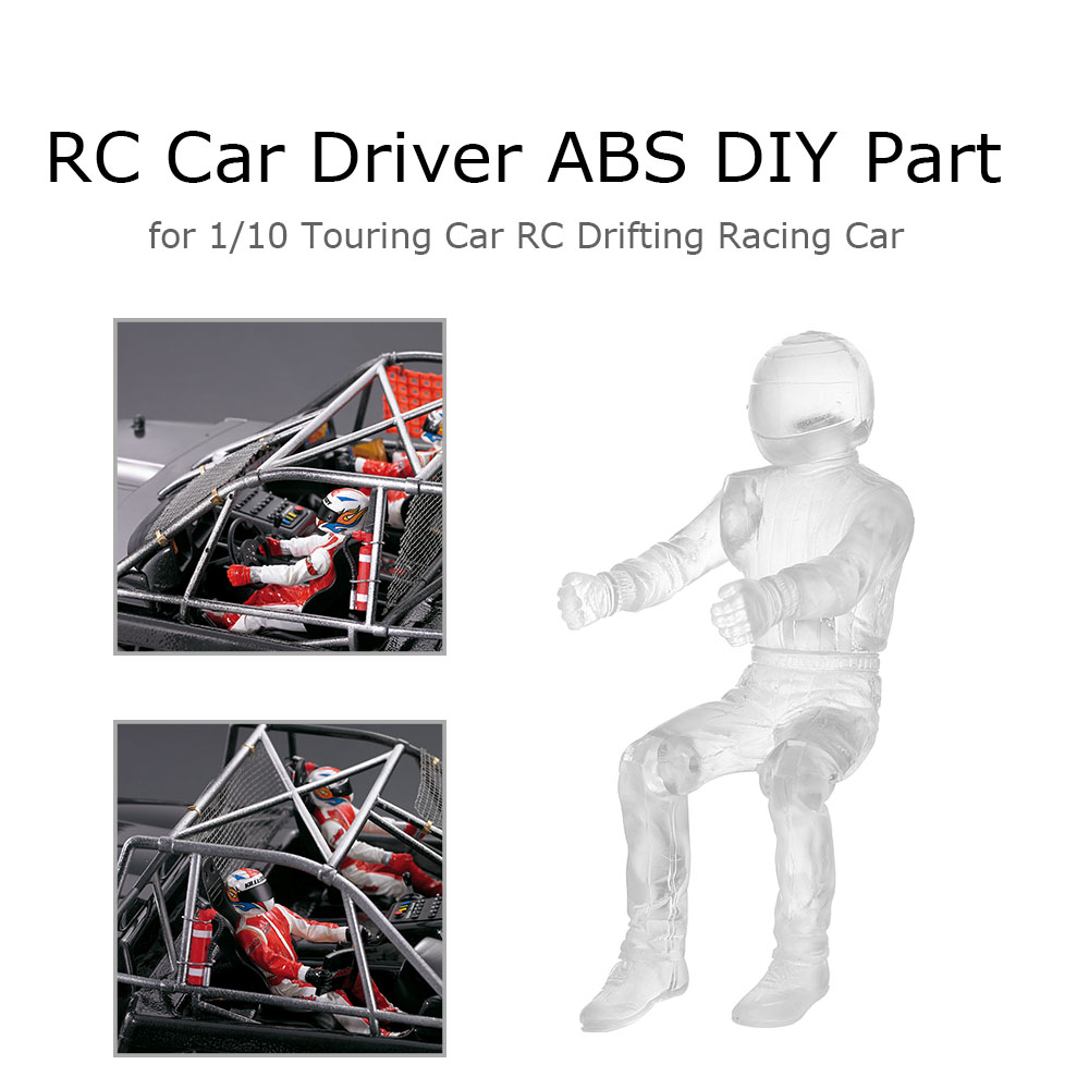Killerbody RC Car Driver ABS DIY Part For 1/10 Traxxas Axial HSP HPI RC Touring Drifting Car