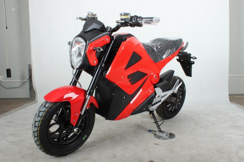 Offre spéciale M3 72 V 20AH 1500 W vélo scooter électrique Moto Moto Electrica Double frein à disque