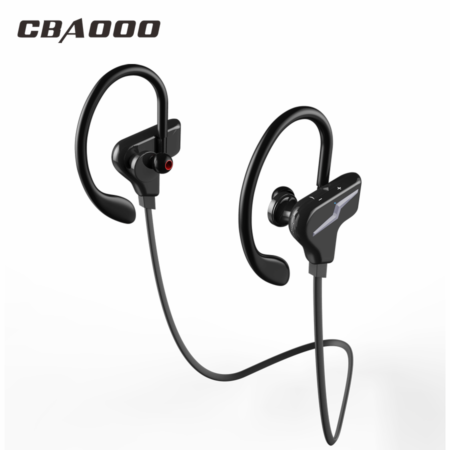 CBAOOO Sport Wireless Bluetooth Earphones Headphone Stereo Headset Blutooth Earbuds With Mic fone de ouvido For phone lymoc m3 bluetooth headphone stereo music earphone wireless sport headset handsfree earbuds fone de ouvido auriculares with mic