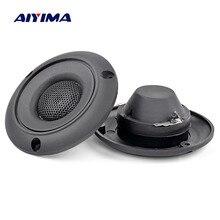 AIYIMA 2 шт. 2,5 дюймов пьезоэлектрический высокочастотный громкоговоритель 25 Вт Керамический пьезо динамик пьезоэлектрический аудио динамик ЗУММЕР круглый ВЧ DIY