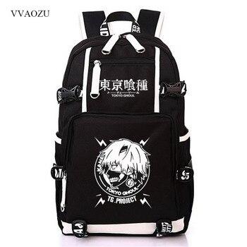 Tokyo Ghoul Backpacks Kaneki Ken Cosplay Large Capacity Backpack Casual Travel Rucksack Back Pack Teenager School Bag