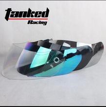 2016 Newest Tanked Racing T112 T158 T270 T108 T159 T160 motorcycle helmet lens, motocross safety motorbike helmets visor