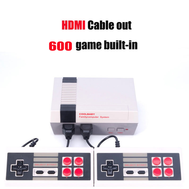 HD HDMI Out Retro Classic handheld game player TV video game console boy Childhood Built-in 600 Games For nes