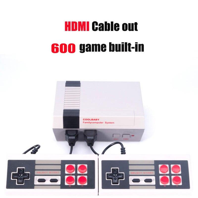 HD HDMI вне Ретро Классический Ручные игры ТВ Видео игровой консоли мальчик детства встроенный 600 игр для ne
