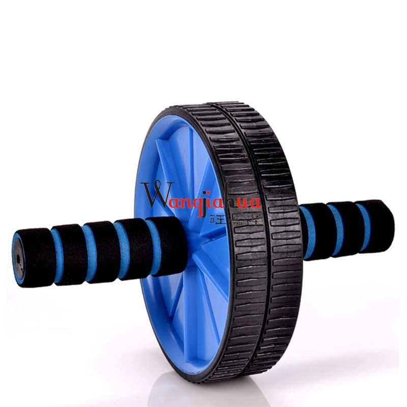 Muscle Double-wheeled Updated Abdominal Wheel Roller Gym Fitness Equipment For Body Building Health Care High Quality