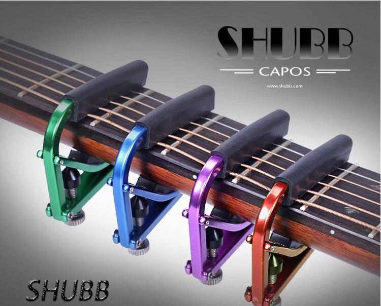 Shubb L1 Lite Capo for Steel String Guitar Capotraste
