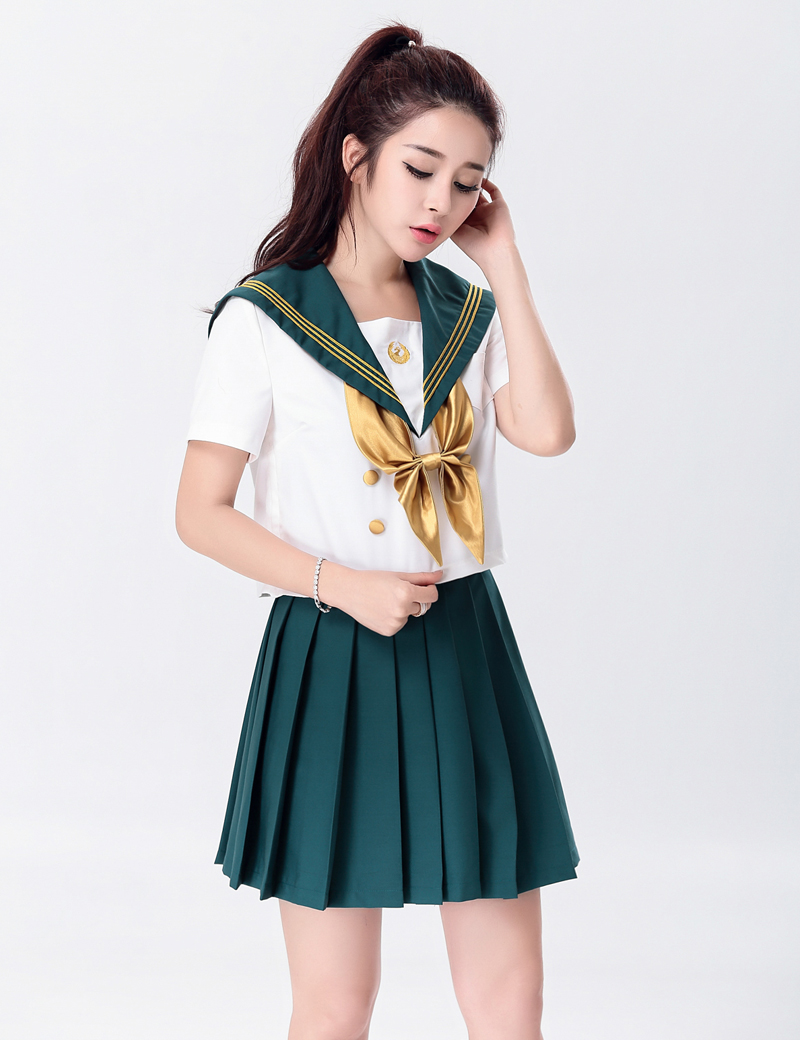 Moonight Sexy Women Student Uniform England Style Naughty School Girl Costume Full -3009