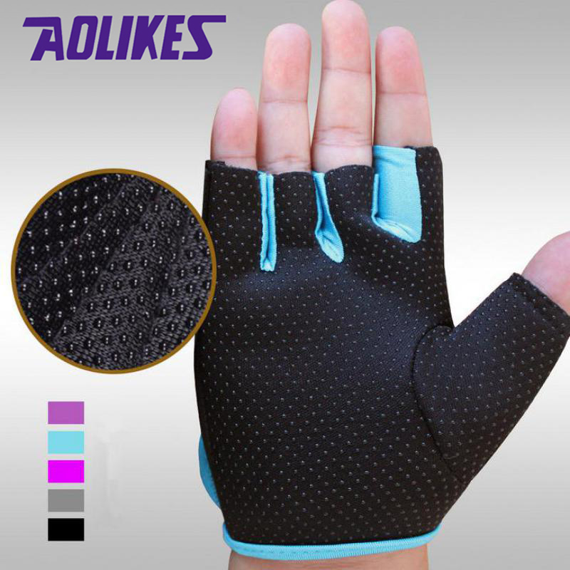Brand Anti-skid Men & Women Gloves Body Building Exercise Sports Fitness Gloves Crossfit Drop Shipping AGL003