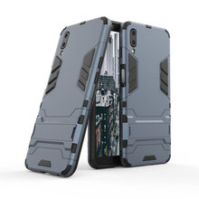 Armor Shockproof Case For Meizu E3 3D Shield PC+Silicone Phone Cover M6s M6T Meilan 6T Fundas Capa