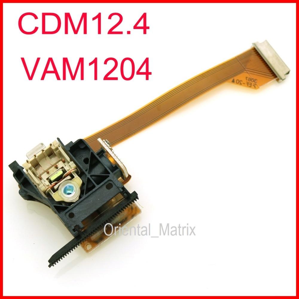 Livraison Gratuite Origine CDM12.4 Optique Pick up CDM-12.4 CD Lentille Laser VAM1204 VAM-1204 Lasereinheit Optique Pick-Up