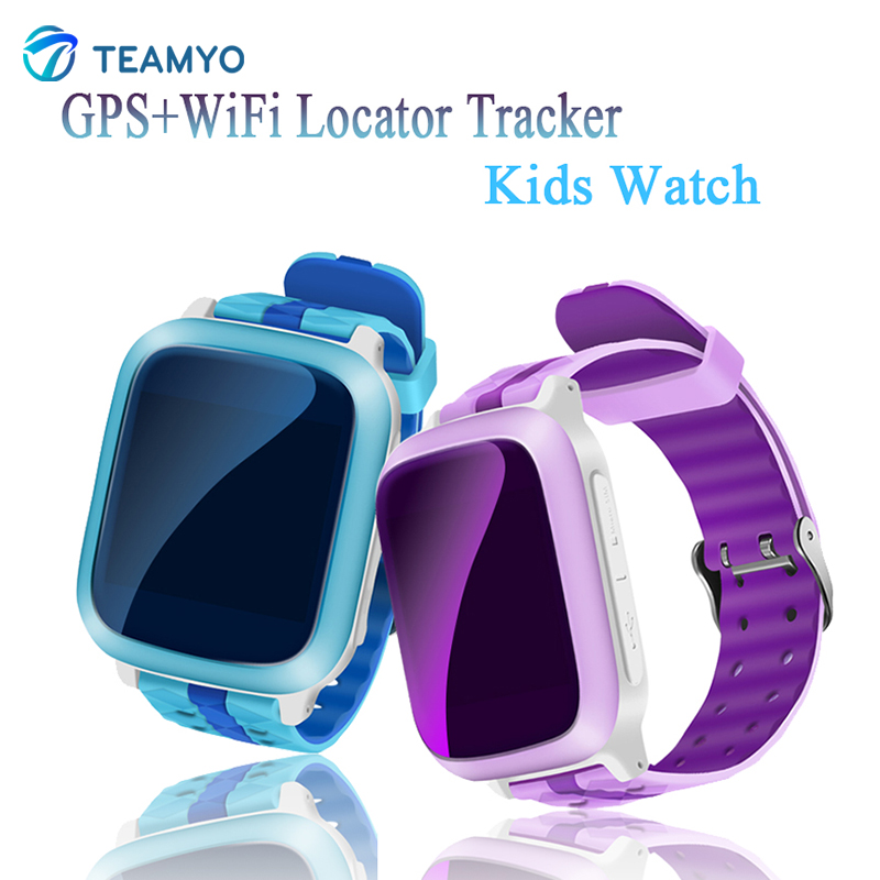 Teamyo Smart baby watch DS18 Wifi AGPS LBS Gps kids Pedometer Alarm clock Call Reminder SIM card watch for children waterproof wireless service call bell system popular in restaurant ce passed 433 92mhz full equipment watch pager 1 watch 7 call button