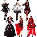 Traje de bruja Araña Vampiro Ropa Cosplay Carnaval Fiesta de Cumpleaños de Navidad Disfraces de Halloween para Las Mujeres Femeninas