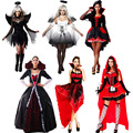 Witch Costume Spider Vampire Clothing Cosplay Carnival Halloween Costumes for Women Female Christmas Birthday Party