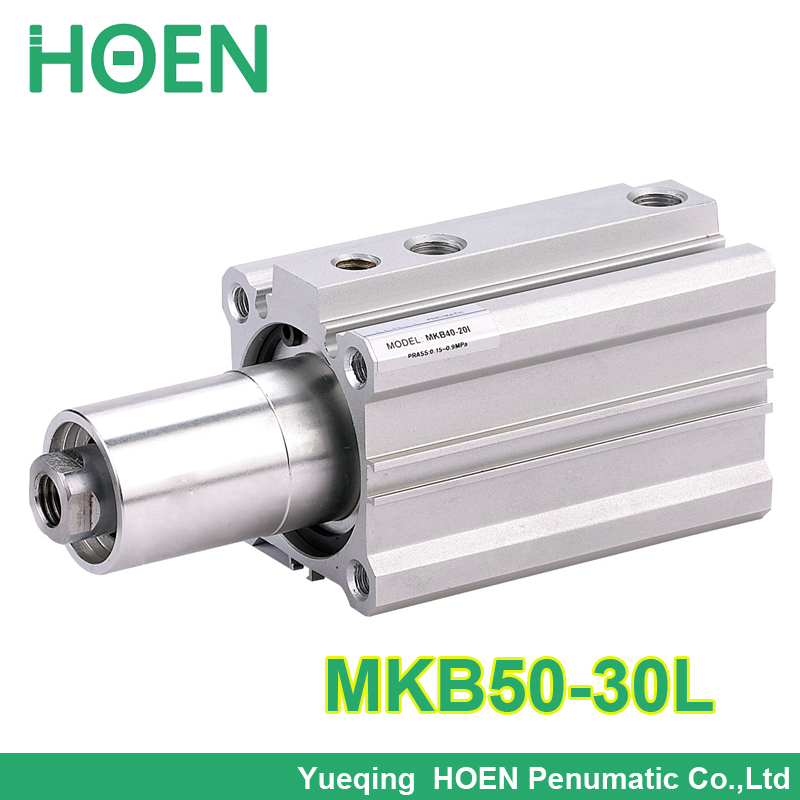 MKB50-30L SMC Type MKB series Double acting Rotary Clamp Air Pneumatic Cylinder MKB50*30L high quality double acting pneumatic gripper mhy2 25d smc type 180 degree angular style air cylinder aluminium clamps