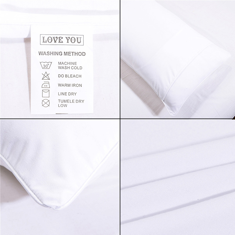 Купить с кэшбэком 2pcs White Black Bird Printed Pillow Case Cover Soft Double Couple Home Bedroom Decorative Pillowcase Bedclothes Wedding Gift