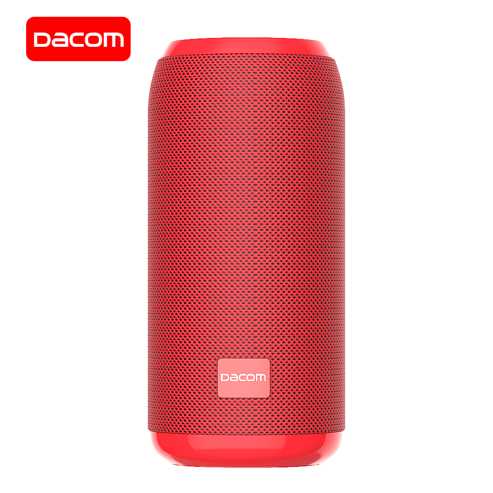 DACOM Q53mini Portable Bluetooth Speaker Wireless Loudspeaker Bass Sound 3D Stereo Music Subwoofer Support Bluetooth TF AUX FM(China)