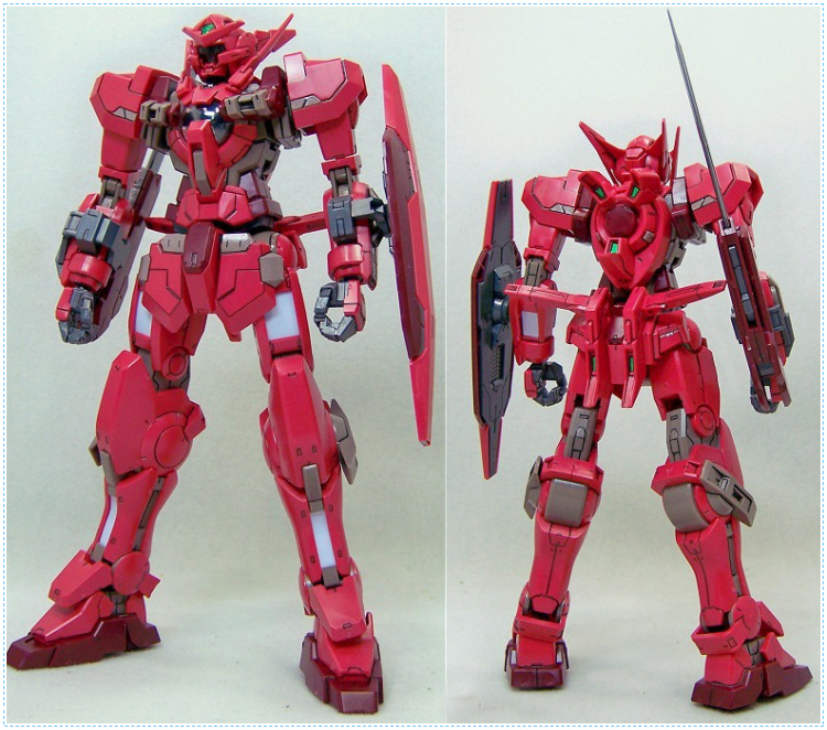 TT gaogao model TV 1/100 GNY-001F Gundam Astraea type F Celestial Being Assembled gundam Model Robot gunpla