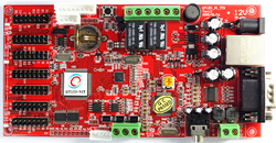 QYLED N1T Car Park Highway Two Dimensional Code Port Serial Port 485LED Voice Integrated Control Card