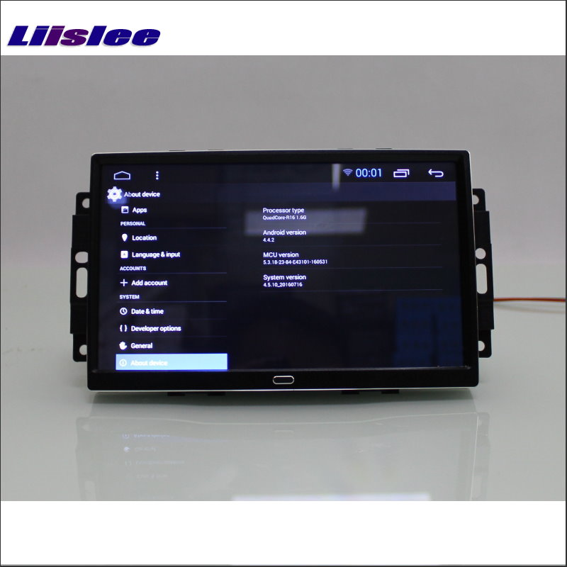 liislee car android 6 0 gps navigation multimedia for chrysler aspen rh aliexpress com