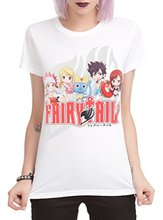Fairy Tail Group Beach Girls T-Shirt
