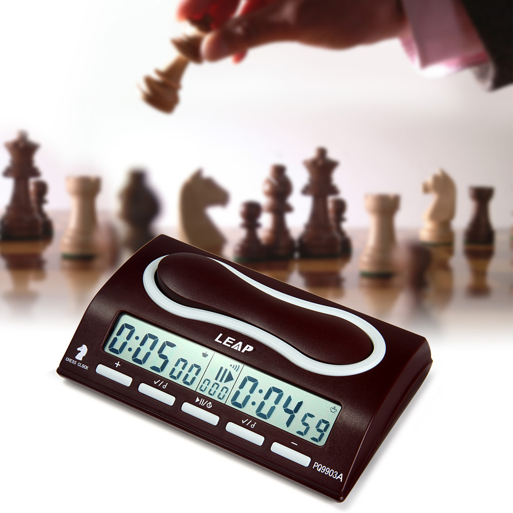 Mini LEAP PQ9903A Professional Chess Clock I-go Count Up Down Timer Multi-functions Clock LED Screen for Game Competition #3Mini LEAP PQ9903A Professional Chess Clock I-go Count Up Down Timer Multi-functions Clock LED Screen for Game Competition #3