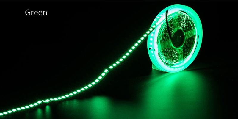 HTB1CTYDauL2gK0jSZPhq6yhvXXav LED Strip Light diode LED light tape backlight 12V 5m 600 LED 5054 IP67 waterproof white warm white