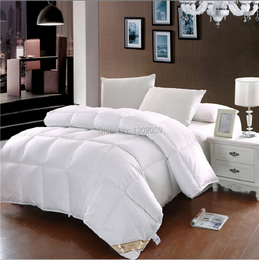 King Queen Full Twin Or Make Any Size Whites Duck Down Doona ... : duck down quilt - Adamdwight.com