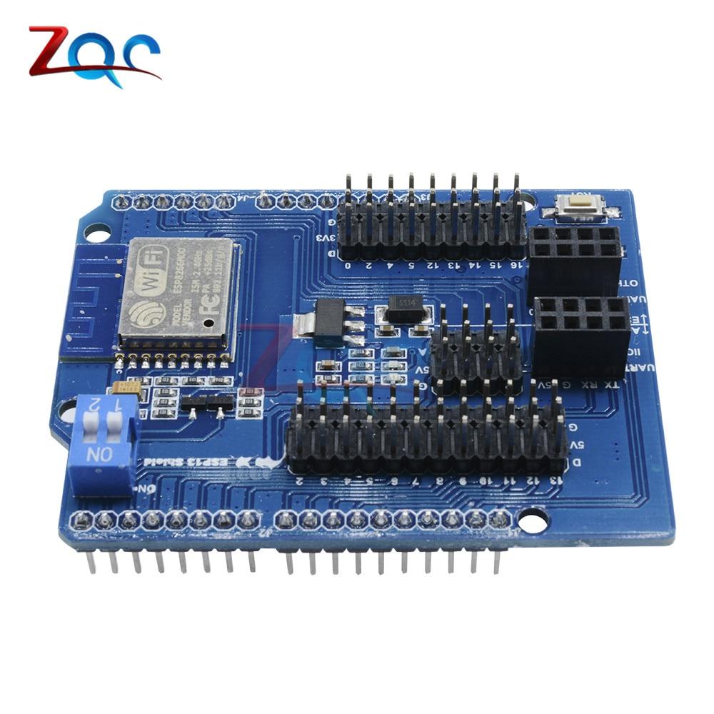 WiFi Shield for Arduino UNO R3 2560 from ESP8266 WiFi Web Sever Shield ESP-13 IoT DIY Development Board ESP13 Module One