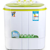 Best Washer And Dryer Sale Semi Automatic Top Loading Washing Machine Capacity 2 2KG Double Tubes