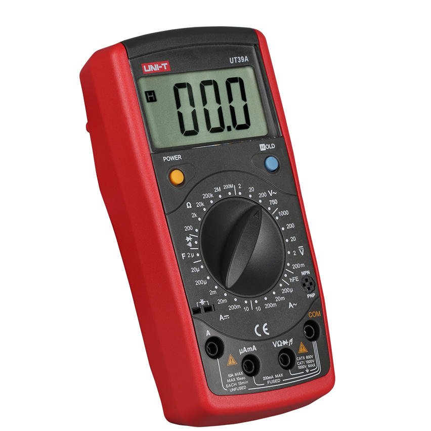 UNI-T UT39E UT-39E Electrical 19999 Count Data Hold General DMM Digital Multimeters W/Frequency Test Multimetro LCR Meter Tester my68 handheld auto range digital multimeter dmm w capacitance frequency