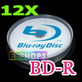 Barato 6X 12X Blu-ray Disc Recordable 50 GB 50 GB BD-R DL de Doble Capa 260 min DVD Imprimible Discos Lote 10 unids Paquete Husillo caso