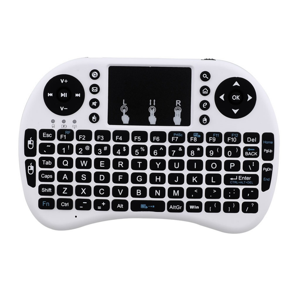 Quality New 2.4G Mini I8 Wireless Keyboard & Touchpad Mouse Mice Touch Pad Combo For XBOX PS3 PC PAD Android TV Box HTPC IPTV