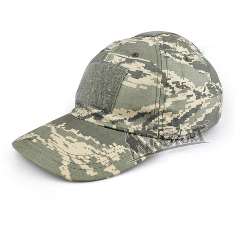 b260aeade Camouflage Military Hunting Caps Polyester and Anti-cut Cotton Army  Tactical Airsoft Camping Hiking Fishing Sun Hat Hunting Caps